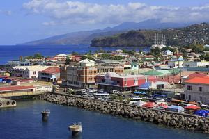 Port of Roseau, Dominica, Windward Islands, West Indies, Caribbean, Central America by Richard Cummins