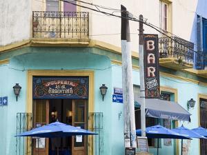 Pulperia La Argentina Bar in La Boca District of Buenos Aires, Argentina, South America by Richard Cummins