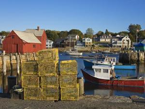 Rockport Harbor, Cape Ann, Greater Boston Area, Massachusetts, New England, USA by Richard Cummins
