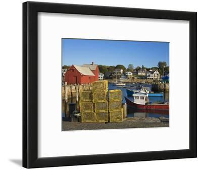 Rockport Harbor, Cape Ann, Greater Boston Area, Massachusetts, New England, USA