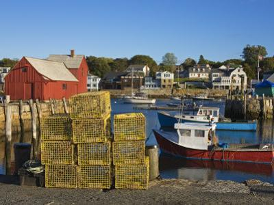 Rockport Harbor, Cape Ann, Greater Boston Area, Massachusetts, New England, USA by Richard Cummins