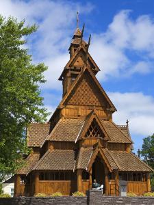 Scandinavian Heritage Park, Minot, North Dakota, United States of America, North America by Richard Cummins