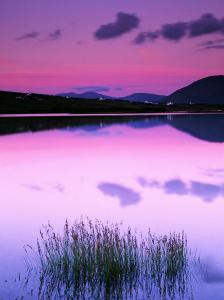 Sky Reflected on Water at Cashel, Ireland by Richard Cummins