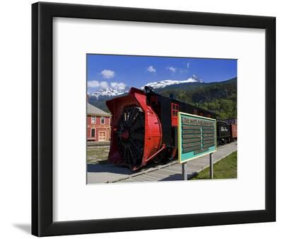 Snow Plow, White Pass and Yukon Route Railroad, Skagway, Southeast Alaska, USA
