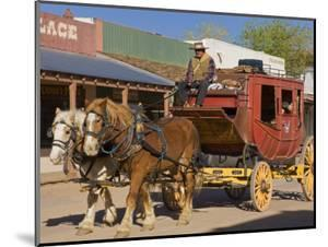 Stagecoach, Tombstone, Cochise County, Arizona, United States of America, North America by Richard Cummins