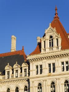 State Capitol Building, Albany, New York State, United States of America, North America by Richard Cummins