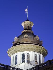 State Capitol Dome, Columbia, South Carolina, United States of America, North America by Richard Cummins