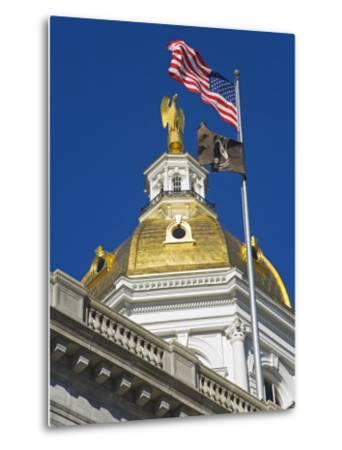 State Capitol Dome, Concord, New Hampshire, New England, United States of America, North America