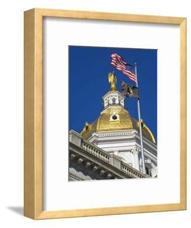 State Capitol Dome, Concord, New Hampshire, New England, United States of America, North America