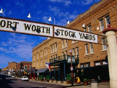 Stockyards District, Fort Worth, Texas by Richard Cummins