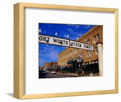 Stockyards District, Fort Worth, Texas