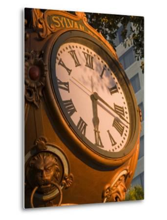 Sylvan Brothers Clock on Main Street, Columbia, South Carolina