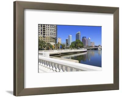 Tampa Skyline and Linear Park, Tampa, Florida, United States of America, North America