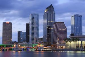 Tampa Skyline, Florida, United States of America, North America by Richard Cummins