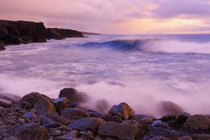 The Burren Coastline Near Doolin, County Clare, Munster, Republic of Ireland, Europe by Richard Cummins