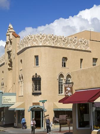 The Lensic Performing Arts Center, Santa Fe, New Mexico, United States of America, North America