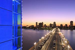 The Pier in St. Petersburg Skyline, Tampa, Florida, United States of America, North America by Richard Cummins
