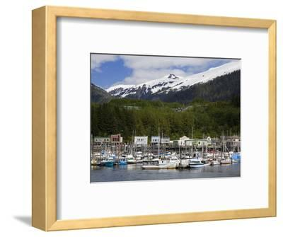 Thomas Basin Boat Harbor in Ketchikan, Southeast Alaska, United States of America, North America