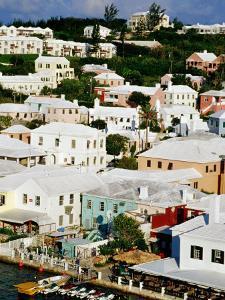 Town Buildings and Waterfront, St. George's Island, St. George's Parish, Bermuda by Richard Cummins