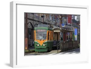 Tram, Izuro Street, Kagoshima City, Kyushu Island, Japan, Asia by Richard Cummins
