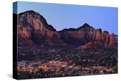 Twilight in Sedona, Arizona, United States of America, North America