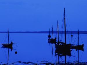 Twilight on Galway Bay by Richard Cummins