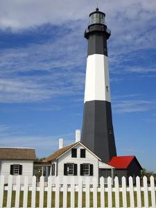 Tybee Island Lighthouse in Savannah by Richard Cummins