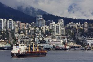 Vancouver, British Columbia, Canada, North America by Richard Cummins