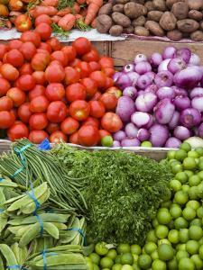 Vegetables at the Fish Market on Tarqui Beach by Richard Cummins
