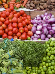 Vegetables at the Fish Market on Tarqui Beach by Richard Cummins