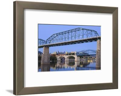 Walnut Street Bridge over the Tennessee River, Chattanooga, Tennessee, United States of America