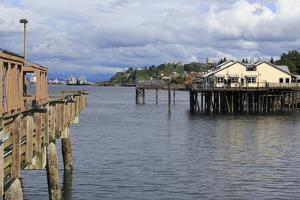 Waterfront Restaurant in Tacoma, Washington State, United States of America, North America by Richard Cummins