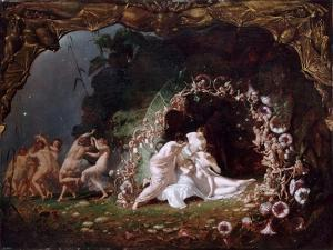 Titania Sleeping by Richard Dadd