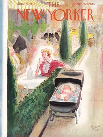 The New Yorker Cover - June 26, 1937