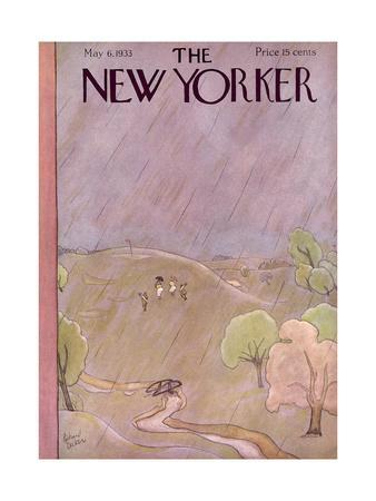 The New Yorker Cover - May 6, 1933