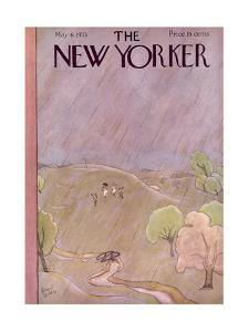 The New Yorker Cover - May 6, 1933 by Richard Decker