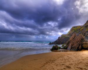 Coumeenole Beach, Ireland by Richard Desmarais