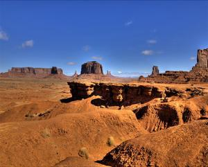 Monument Valley J. Ford Point by Richard Desmarais
