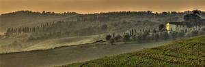 Tuscany Val d'Orcia Panorama by Richard Desmarais