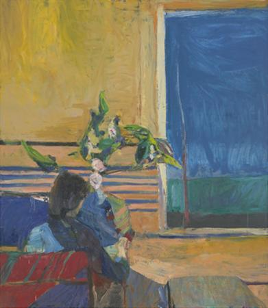 Girl with Plant, 1960 by Richard Diebenkorn