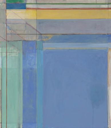 Ocean Park #79, 1975 by Richard Diebenkorn