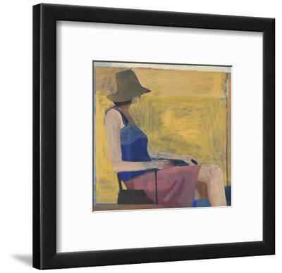 Seated Figure with Hat, 1967