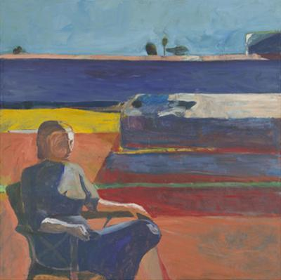 Woman on a Porch, 1958 by Richard Diebenkorn
