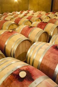 Barrel Room at Walla Walla Winery, Walla Walla, Washington, USA by Richard Duval