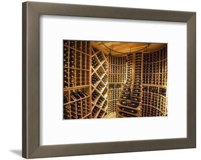 Bottle Cellar at Garrison Creek Cellars, Walla Walla, Washington, USA