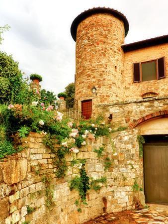 Castello Di Gabbiano, One of the Historic Chianti Wine Estates in Tuscany, Greve, Italy by Richard Duval