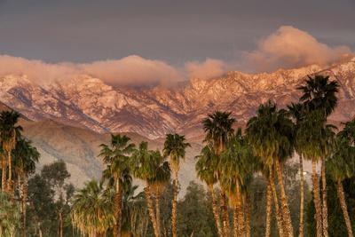 Jacinto and Santa Rosa Mountain Ranges, Palm Springs, California, USA
