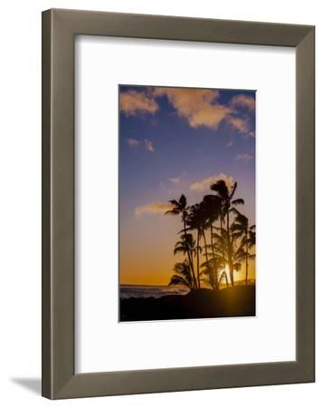 Sunset at Poipu Beach, Kauai, Hawaii, USA