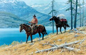 Mountain Lake by Richard Freeman