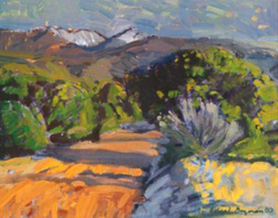 Road to Truchas Peaks by Richard Guzman
